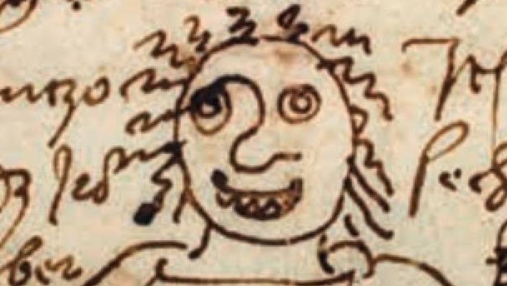 """Albrecht Dürers """"Emoji"""" - möglicherweise die Geliebte seines Freundes Willibald Pirckheimer (Münchner Verlagsanstalt)."""