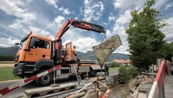 Altreu: Arnold-Brüggli über Lochbach wird rückgebaut
