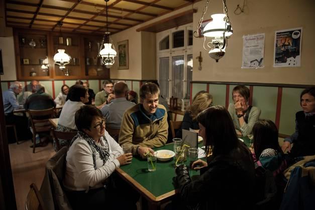 Viele Gäste fanden sich für das Herbstfest im Weissen Wind ein.