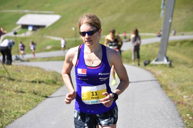 Petra Eggenschwiler belegte bei ihrem ersten Wettkampf seit gut zehn Monaten den fünften Platz.