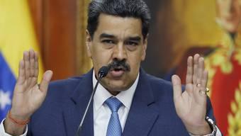 Venezuelas Machthaber Nicolás Maduro teilt erneut gegen die USA aus. (Archivbild)