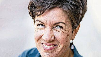 Lyrikerin Nathalie Schmid.