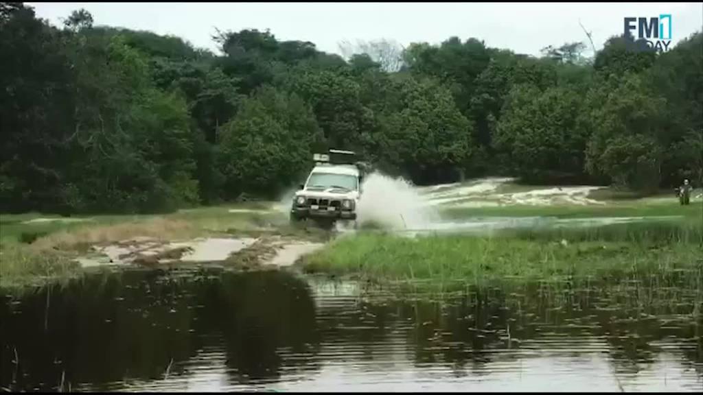 Mit St.Galler Autonummer einmal quer durch Afrika