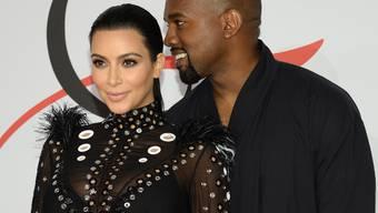 Eine Grossfamilie soll es sein: Kanye West möchte mit Ehefrau Kim Kardashian schon bald das nächste Kind machen. (Archivbild)