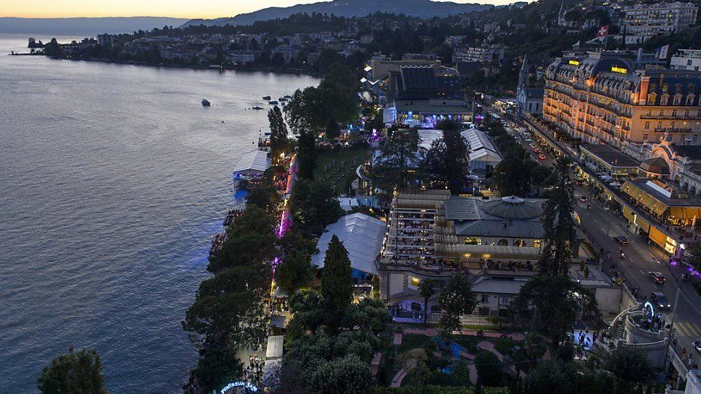 Die für das Jazz-Festival berühmte Stadt Montreux will die olympischen Winterspiele 2026 austragen. (Archivbild)