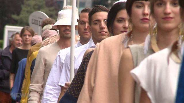 `Loufmeter`: Die etwas andere Modeschau
