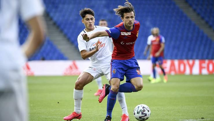 Der FC Basel gewinnt das Liga-Spiel gegen die verstärkte U21 des FC Zürich mit 4:0