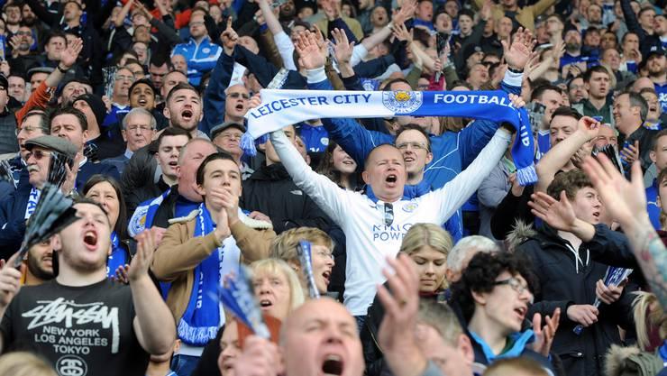 Die Leicester-Fans können es nicht fassen: Englischer Meister!