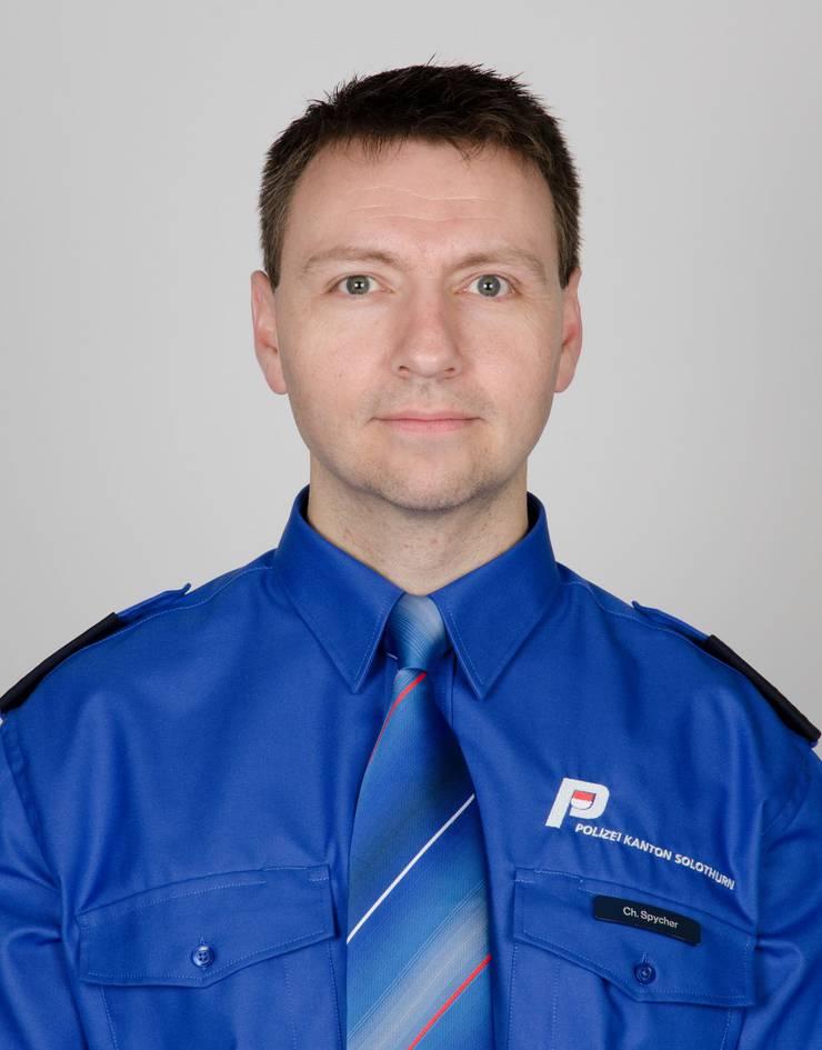 Christian Spycher ist seit 2008 Ausbildungsverantworlicher und seit 1997 Polizist bei der Kantonspolizei Solothurn.