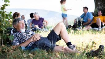 Das Leserwandern durchs Schwarzbubenland lädt auch zur Entspannung ein.