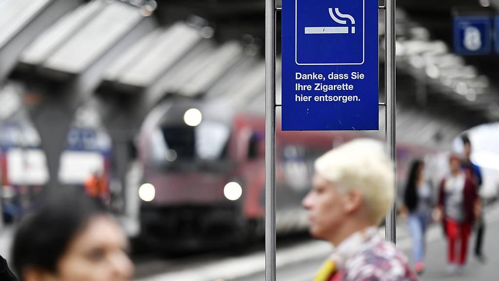 Bahnhöfe der Zentralbahn sind ab Ende November rauchfrei