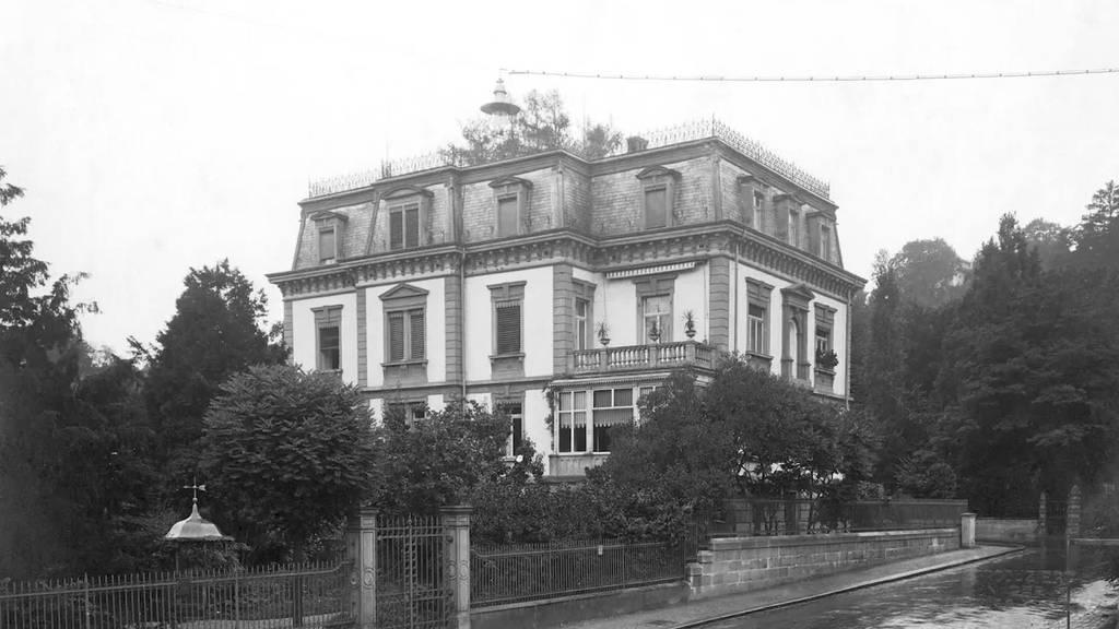 Baustart: Die Villa Wiesental in St.Gallen wird zum Hotel