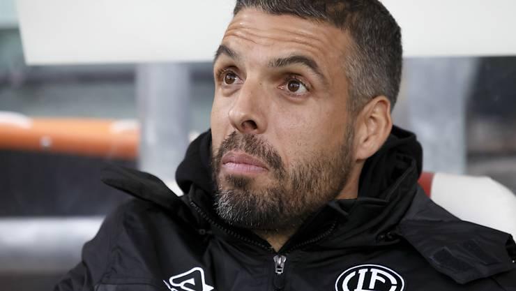 Luganos Trainer Fabio Celestini darf schon zur Europa League emporschauen