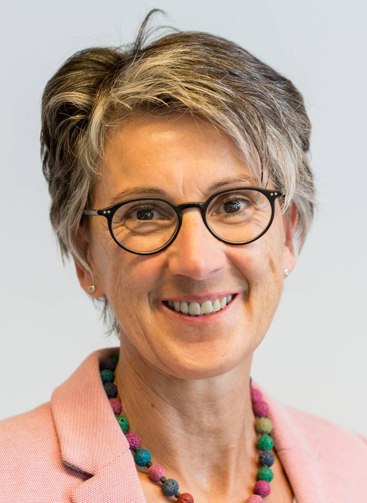 Brigitte Steinhoff ist die Schulleiterin der Berufsschule Scala. Sie hat die Lehrmittel mitentwickelt.
