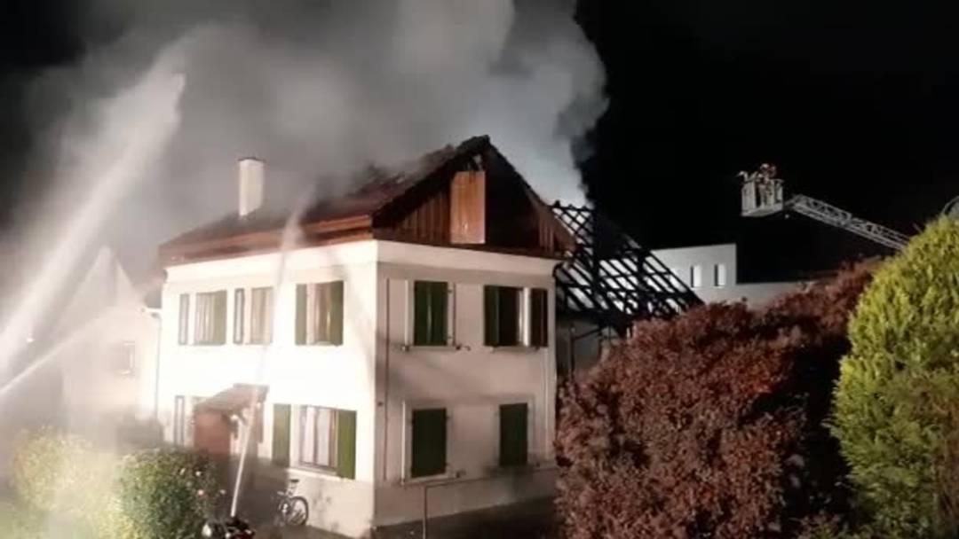 Grossbrand in Stetten