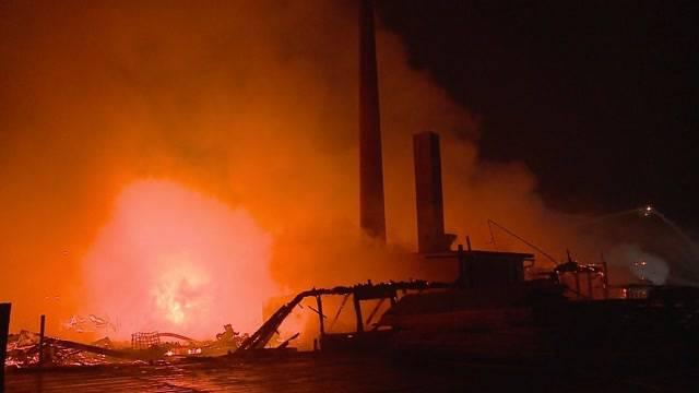 Grossbrand in Balsthal: Riesige Zerstörung