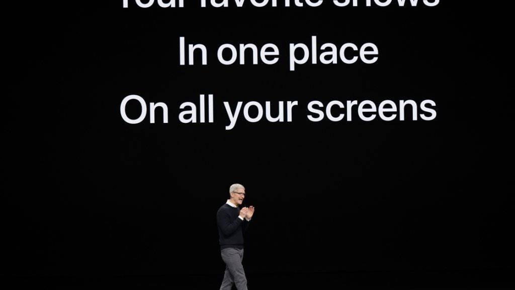 Apple-Chef Tim Cook will mit einem eigenen Video-Streamingdienst die etablierten Player wie Netflix und Amazon herausfordern.