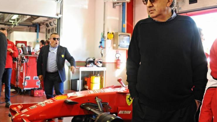 Der allmächtige Ferrari-Chef Sergio Marchionne denkt an ein F1-Comeback von Alfa Romeo
