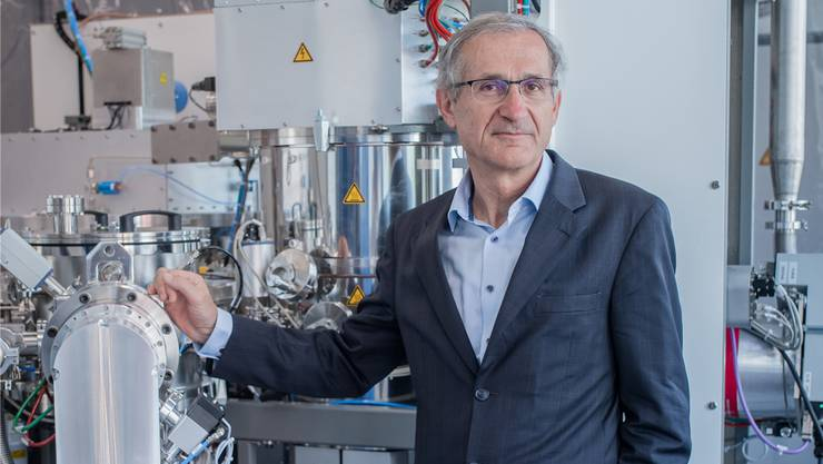 «Die Schweiz hat oft Mühe mit ‹think big›», sagt Empa-Direktor Gian-Luca Bona.