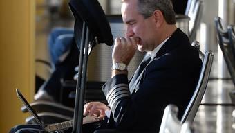 Die USA drängen auf ein Verbot von Laptops an Bord von Passagierflügen (Symbolbild)