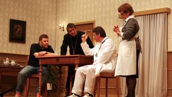 Laientheater Zufikon mit «Jesses Gott Herr Pfarrer»