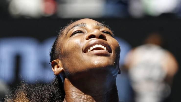 Keine Hilfe von oben nötig: Serena Williams dominiert am Australian Open wie in früheren Zeiten