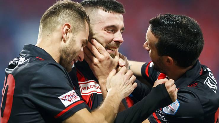 Neuchâtel Xamax hat den Aufstieg in die Super League geschafft und sorgt für die positiven Schlagzeilen in der Westschweiz.