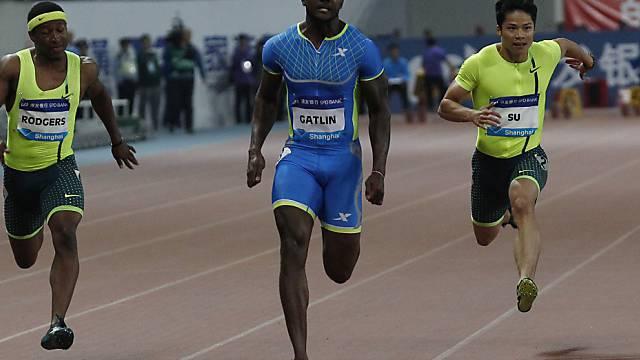 Justin Gatlin gewinnt 100-m-Sprint in Schanghai