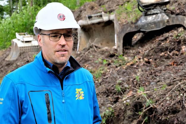 «Das wird eine Entdeckungsreise», sagte Joël Inniger, Leiter Tiefbau und Werke der Gemeinde Weiningen. Denn beim Aushub wird sich zeigen, wie der Untergrund beschaffen ist.