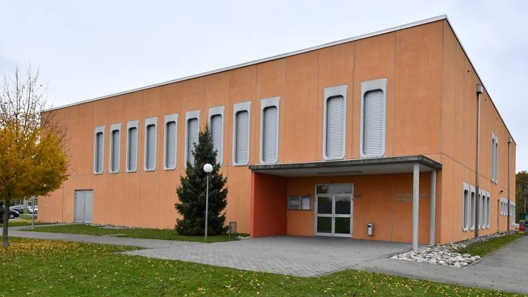 Die Mehrzweckhalle Niedergösgen wird neu - wie bereits die Schulanlagen - videoüberwacht.