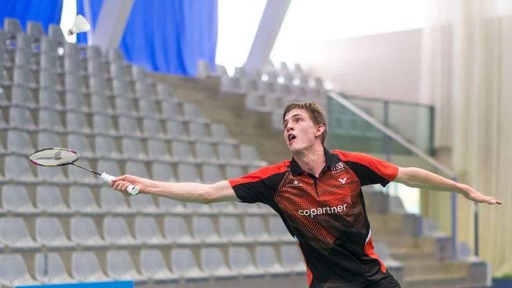 Herumgekommen: Joel König stammt aus Basel, trainiert in Bern, spielt internationale Turniere und für ein aargauisches Team.