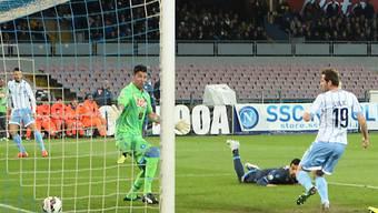 Senad Lulic (r.) schoss Lazio in den Cupfinal