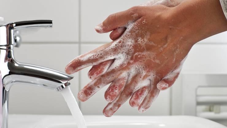Die in der Coronakrise gelernten Hygiene-Massnahmen sollten langfristig beibehalten werden. Z. B. auch zur Vorbeugung der Schweinegrippe, die gerade wieder in China virulent zu werden scheint. (Symbolbild)