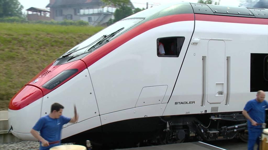 Ausgebremst: Coronakrise hinterlässt Spuren bei Stadler Rail