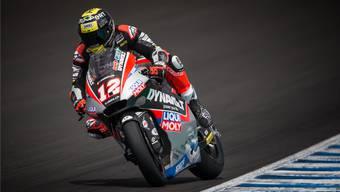 Tom Lüthi landet in Jerez knapp neben dem Podest.