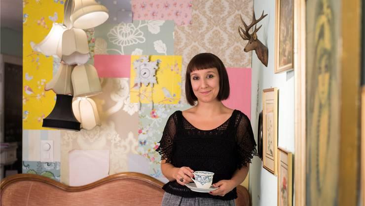 Claudia Nabholz führt in der Badener Altstadt das beliebte Café «Frau Meise». Alex Spichale