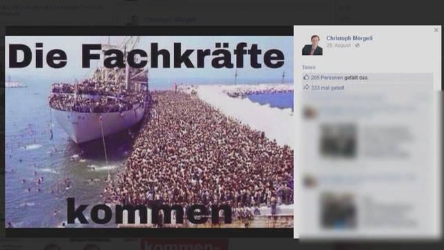 Mörgeli kurzfristig von Facebook gesperrt