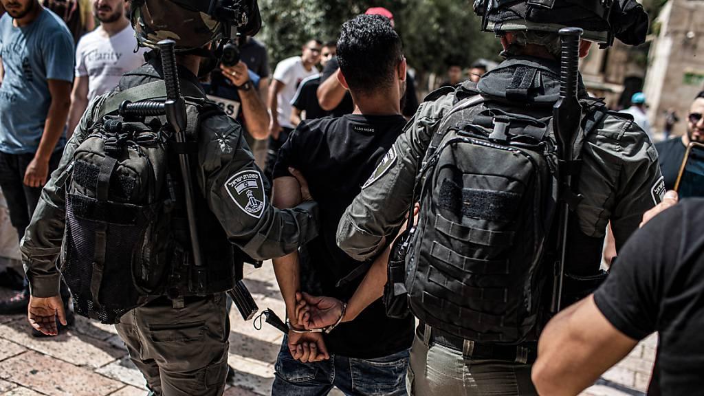 Palästinensischer Bericht: Mehrere Festnahmen in Jerusalem
