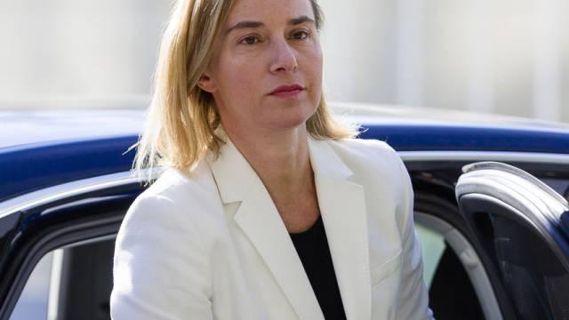 Gefordert: EU-Aussenbeauftragte Federica Mogherini