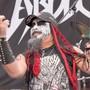 Am Donnerstag fand in Finnland die erste «Heavy Metal Strick-Weltmeisterschaft» statt. Neun Länder haben bei diesem bizarren Wettkampf mitgemacht.