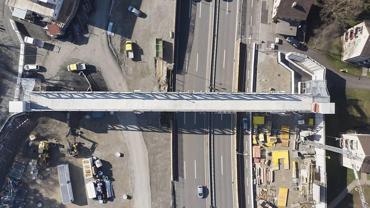 Deckel drauf: Die A1 bei Schwamendingen soll eingehaust werden.