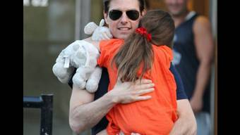 Tom Cruise mit Tochter Suri