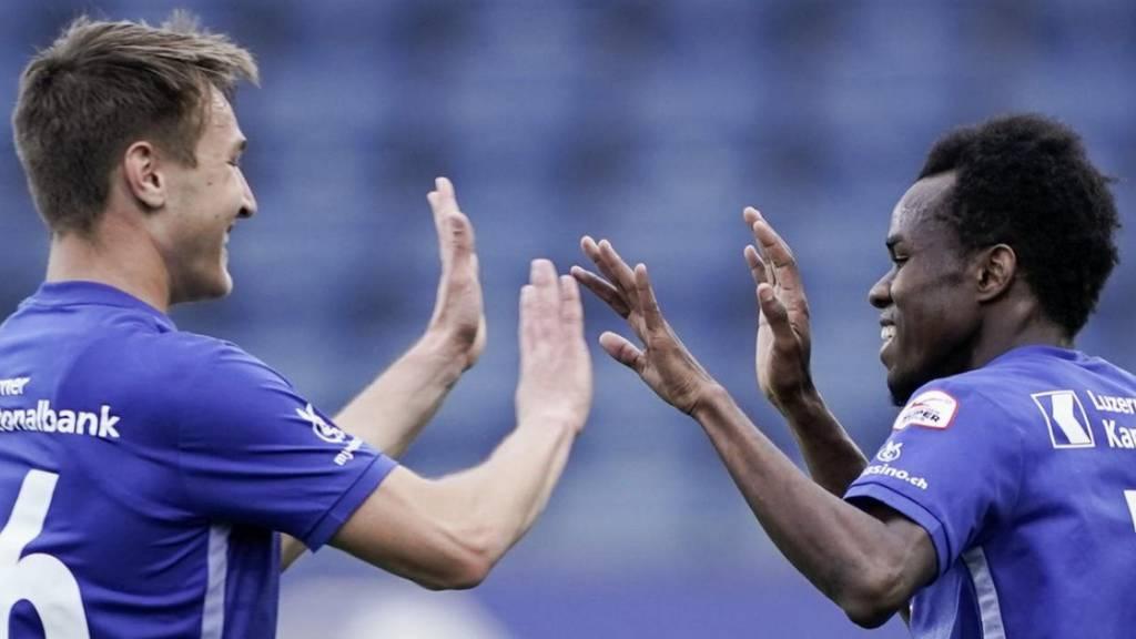 Luzern und Dynamo Kiew trennen sich 3:3