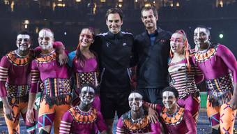 «Match for Africa» 2017 – Roger Federer und Andy Murray duellieren sich im Hallenstadion