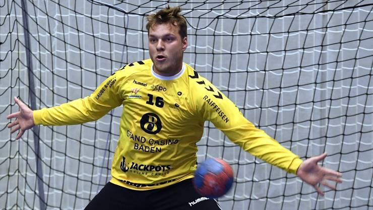 Torhüter Yves Imhof hatte mit seinen sieben Paraden massgeblichen Anteil am ersten Saisonsieg des TV Endingen.