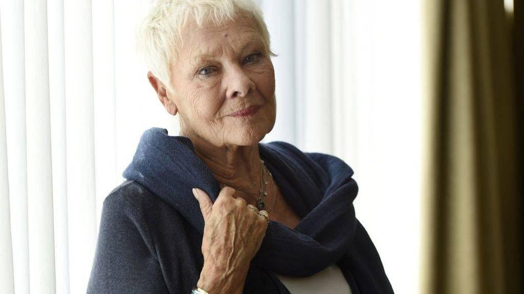 Judi Dench erhält am 14. Zurich Film Festival für ihre Lebensleistung den Golden Icon Award.