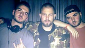 Rapper Stress im «Club Joy» mit den DJs BIg Boys. Ursula Burgherr