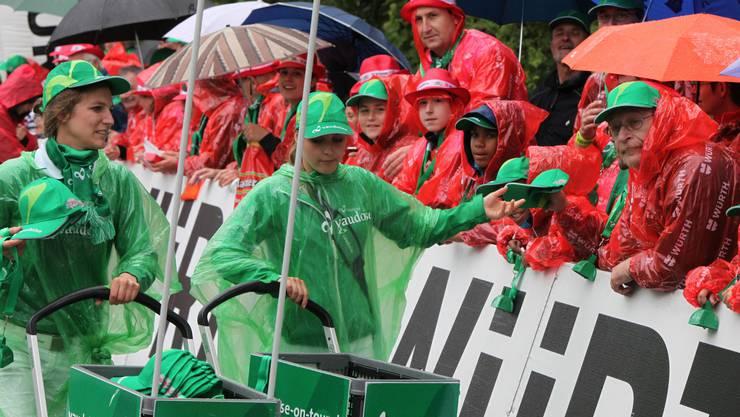 Für einmal keine politische Koalition: Rot-Grün dominierte an der Zielgeraden in Trimbach, wobei der farbliche Zweikampf zwischen Vaudoise und Würth eher zuungunsten der Schweizer ausging.