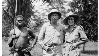 Eine Szene aus dem Film Safari.