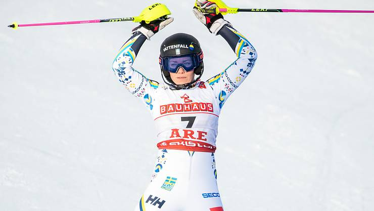 Frida Hansdotter bestritt ihre letzten Titelkämpfe im Februar in Are
